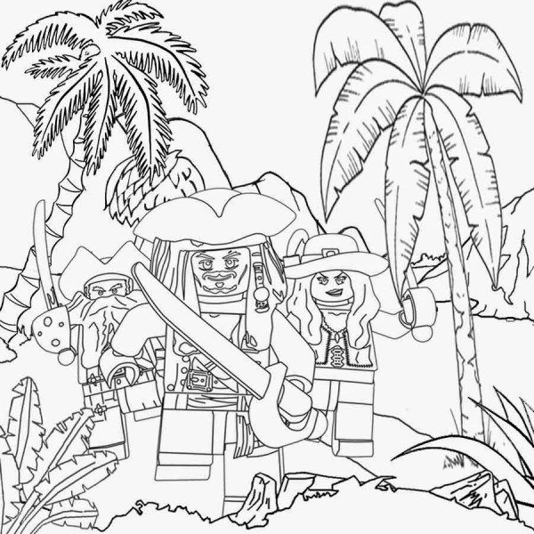 pirates of the caribbean coloring pages # 41