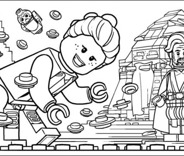 Lego Star Wars Coloring Pages At Getdrawings Free Download