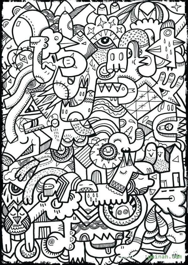 random coloring pages # 70
