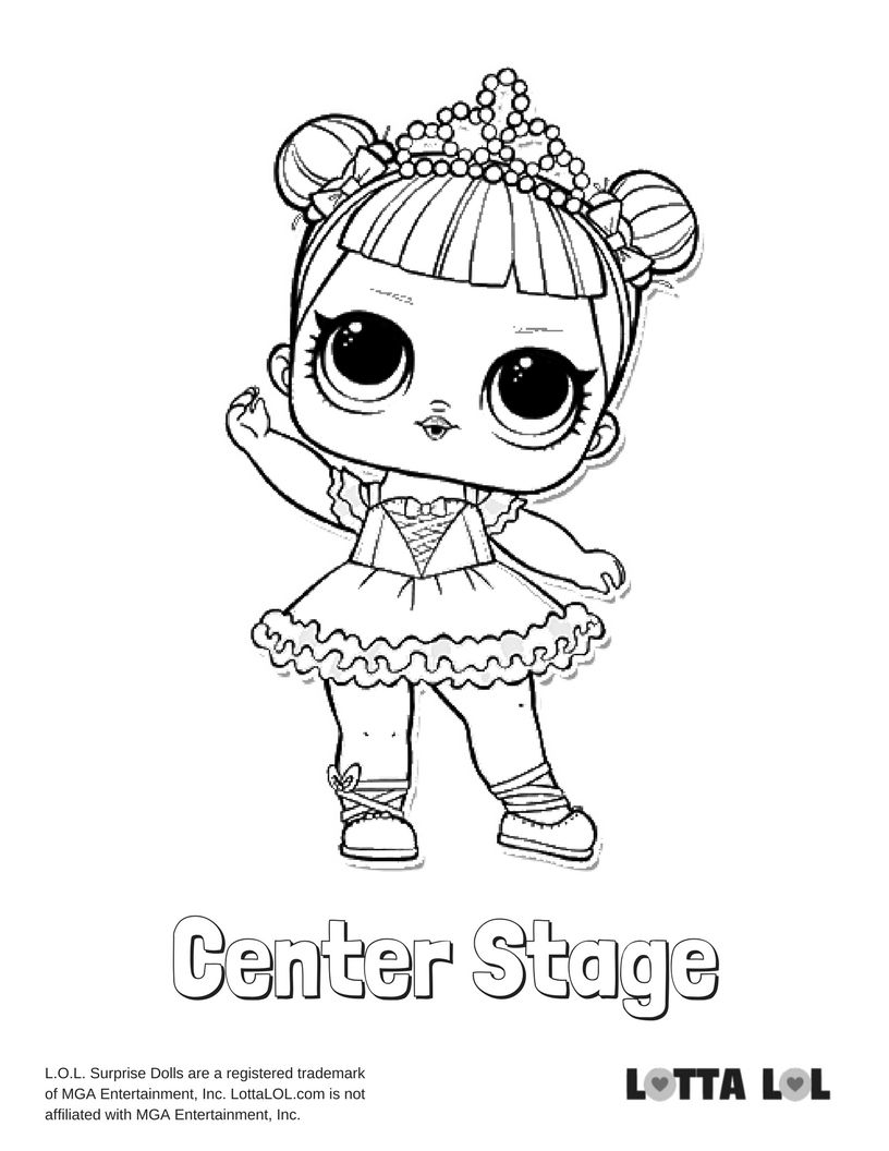 Lil Flower Child Lol Coloring Page Lol Surprise Disegni Da