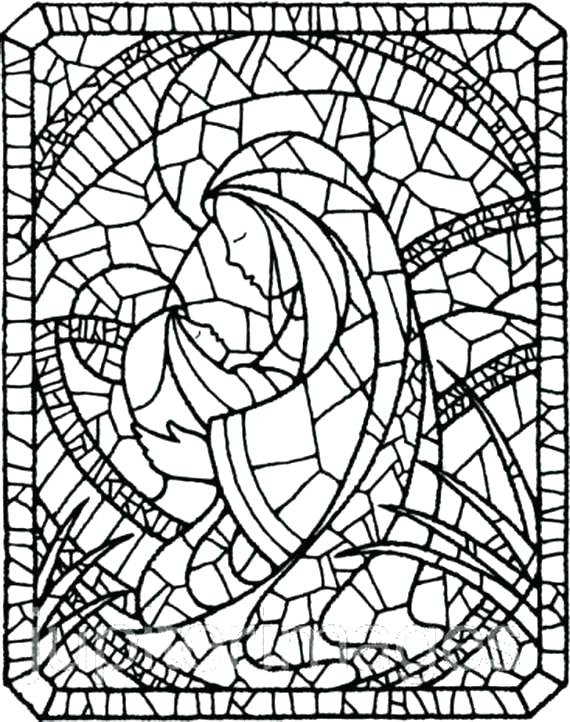 mary coloring pages # 14