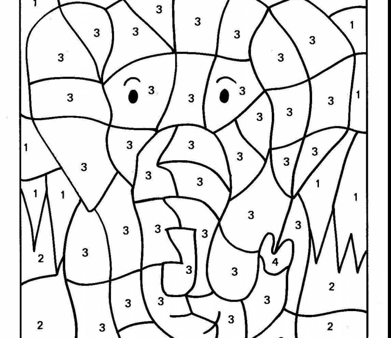 Math Coloring Pages 2nd Grade At Getdrawings