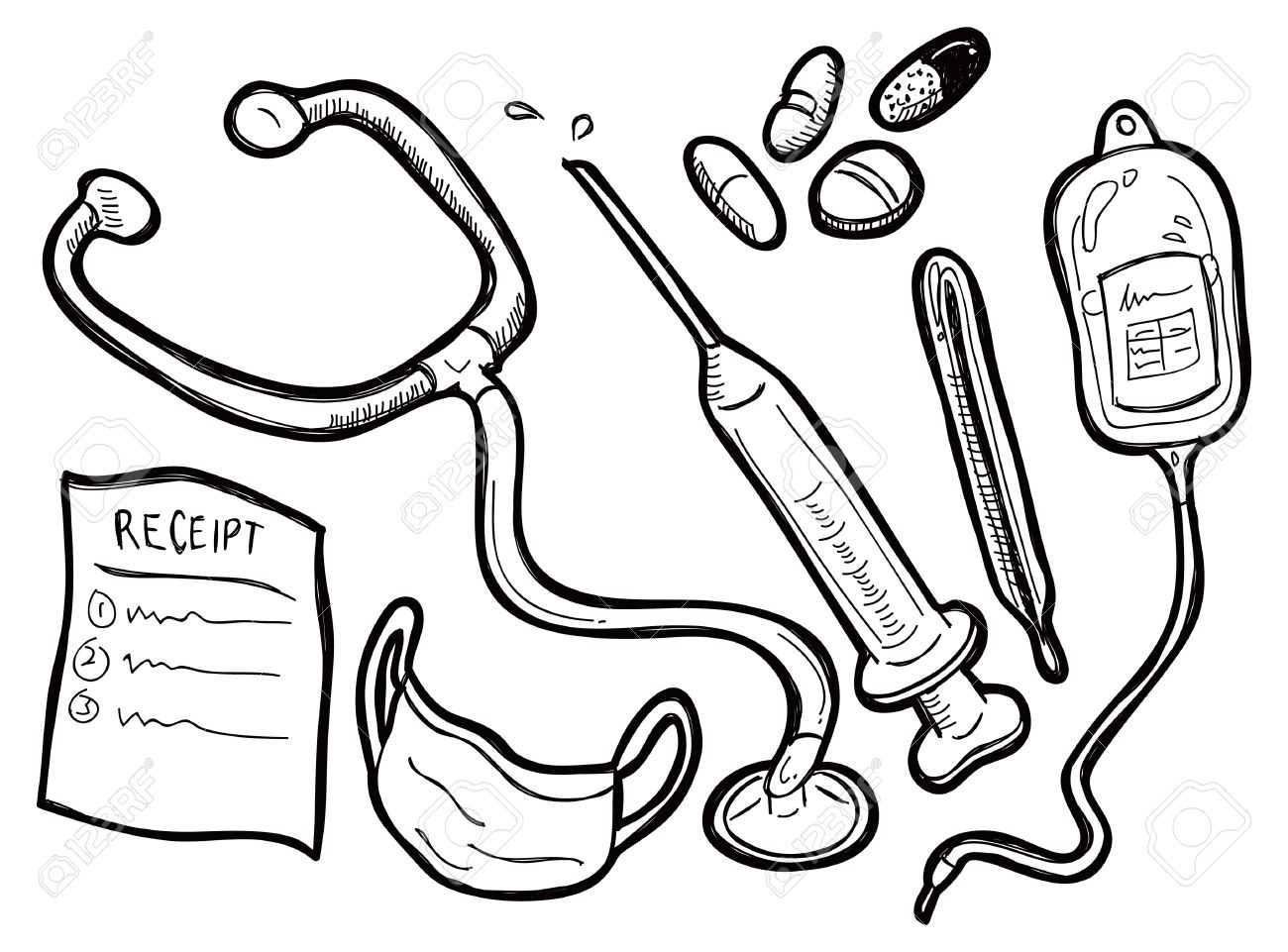 Medical Coloring Pages At Getdrawings
