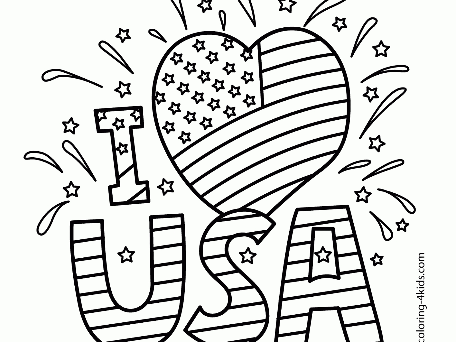 Memorial Day Coloring Pages At Getdrawings