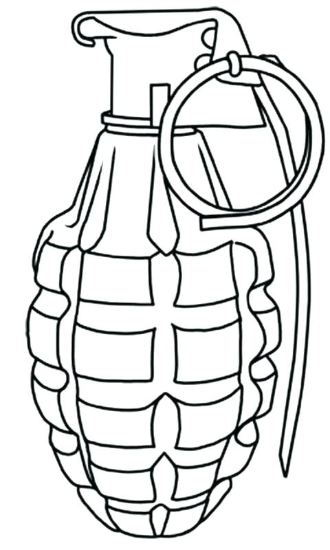 The best free Gun coloring page images. Download from 274