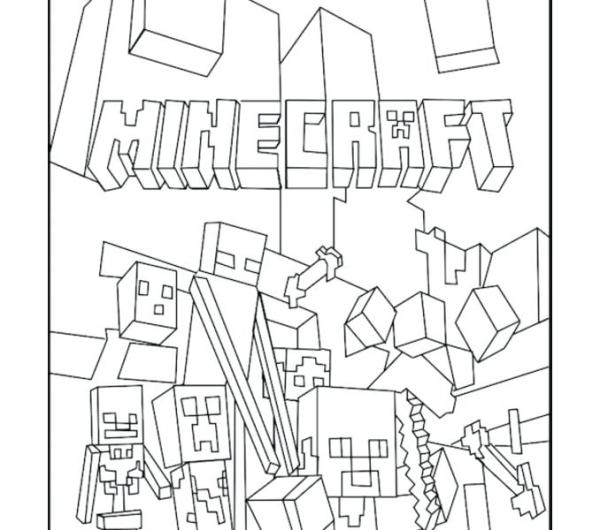 minecraft color page # 75