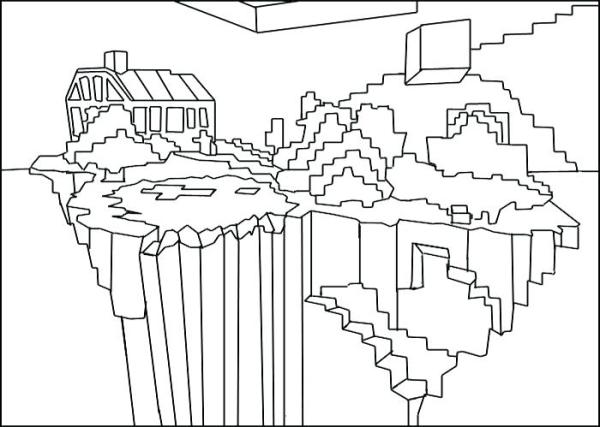 minecraft printables coloring pages # 20