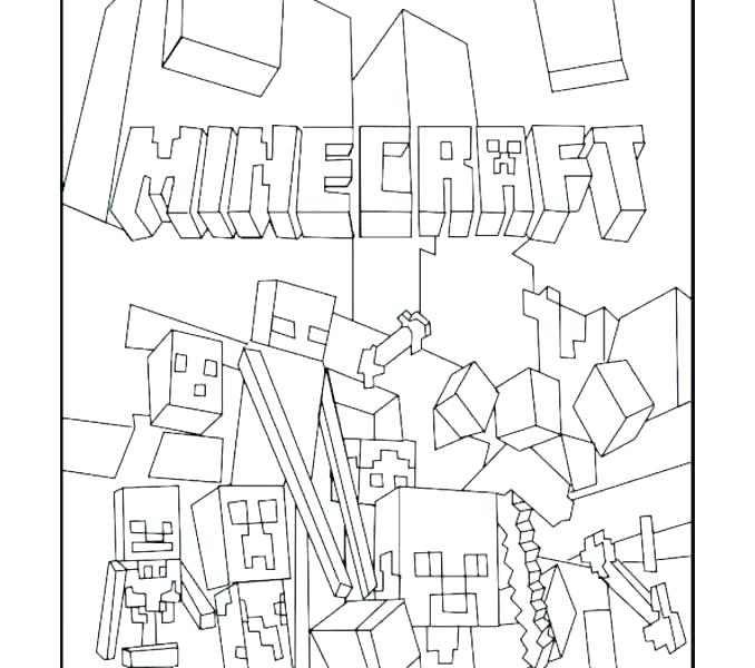 Minecraft Villager Coloring Pages at GetDrawings.com
