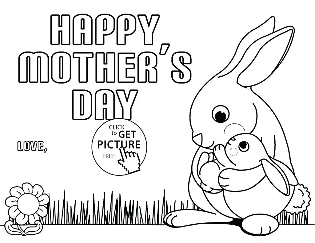 Mothers Day Coloring Pages For Toddlers At Getdrawings