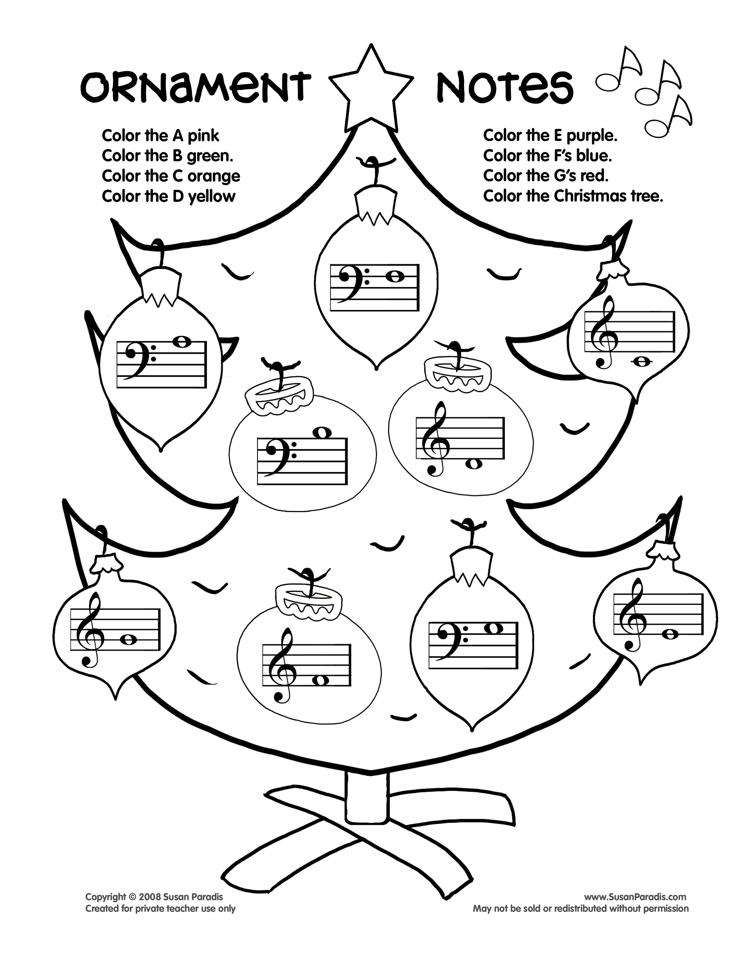 Music Notes Coloring Pages Preschoolers at GetDrawings.com