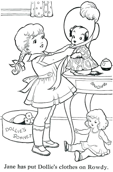vintage coloring pages # 31