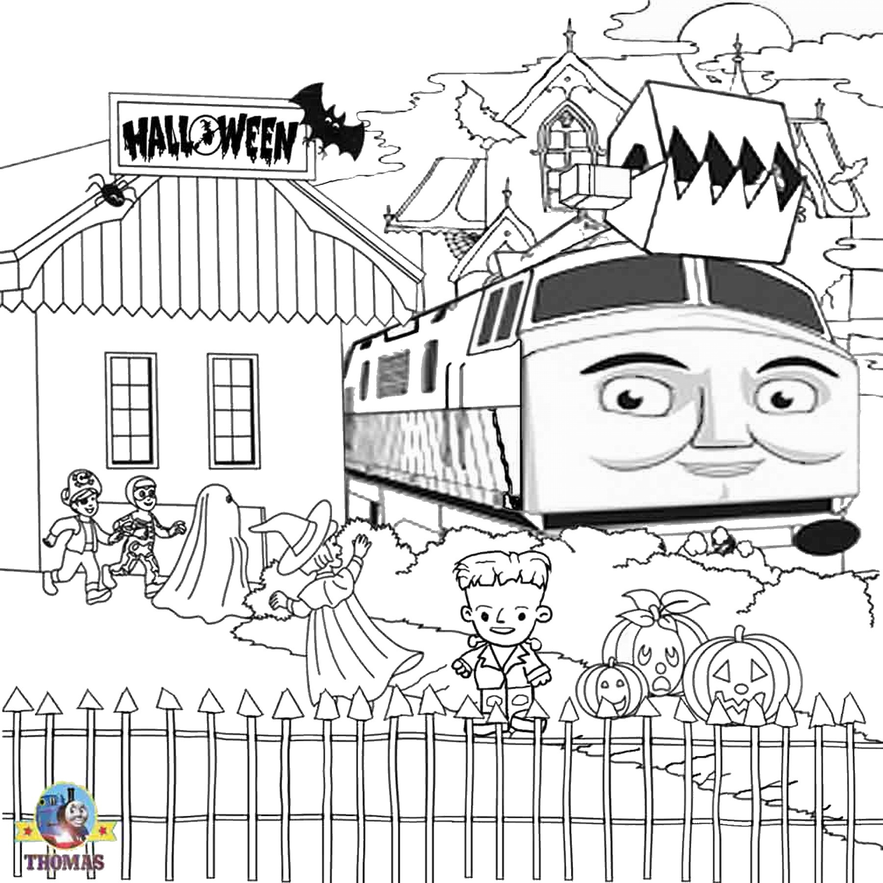 Percy The Train Coloring Pages At Getdrawings