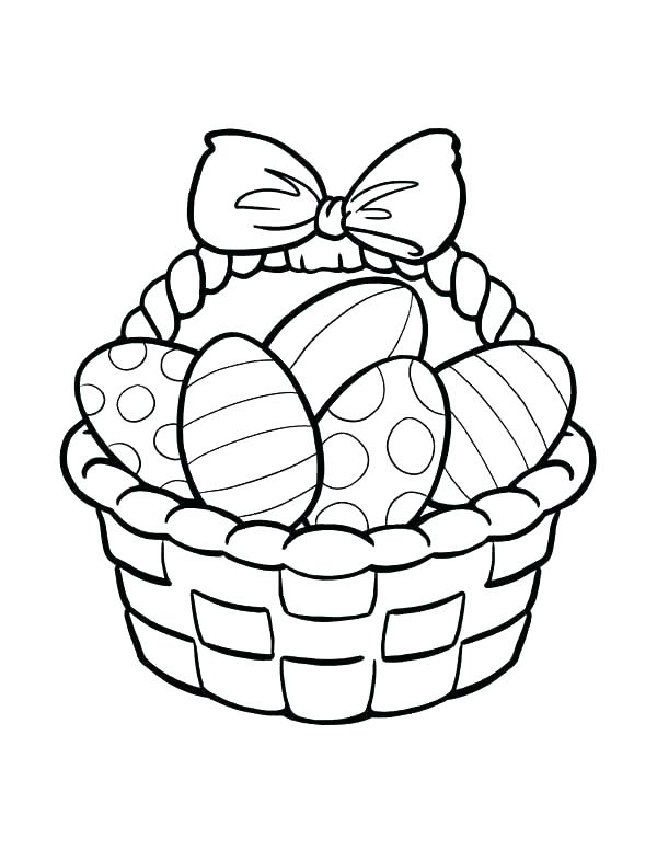 basket coloring page # 62