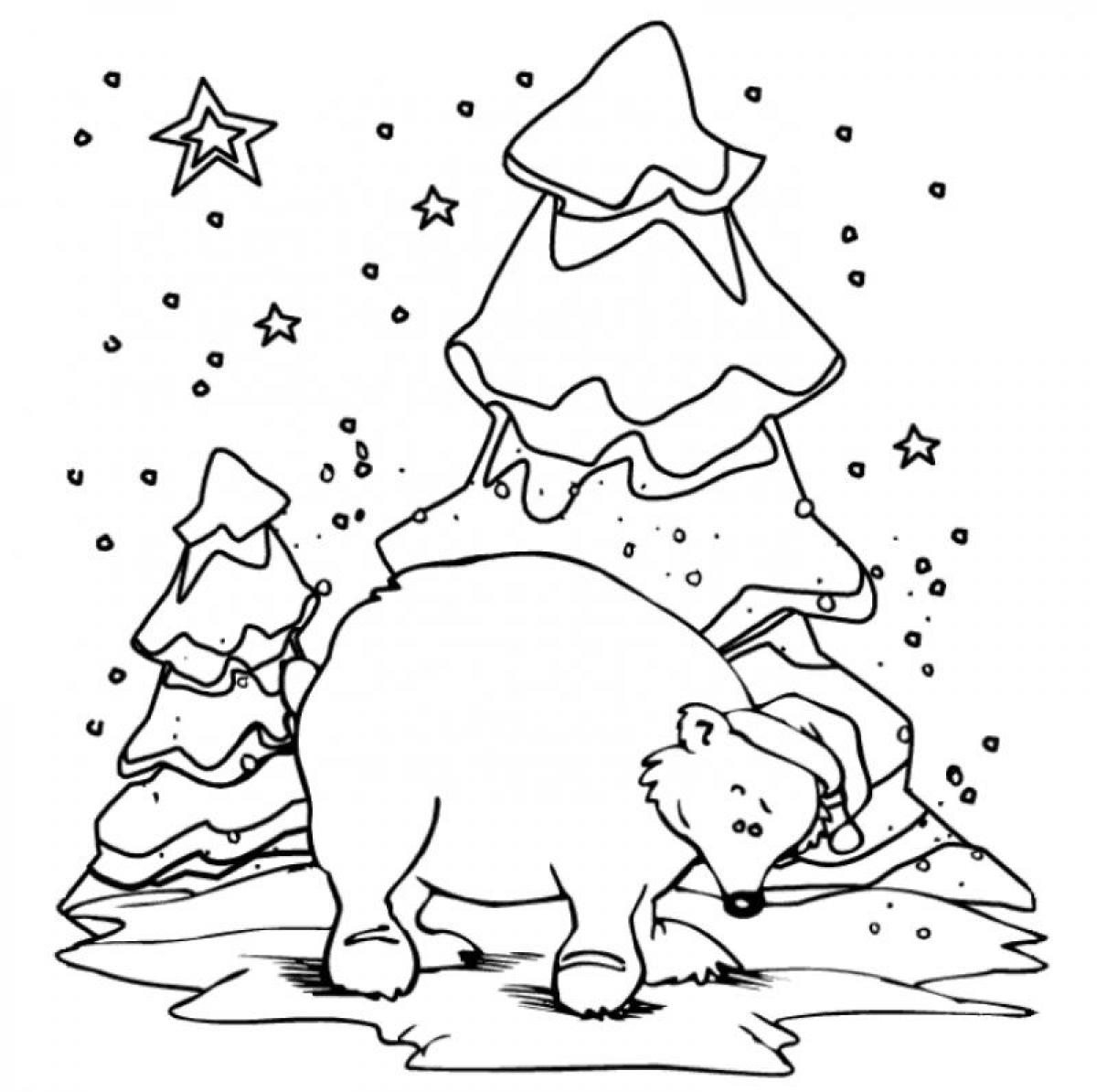Polar Bear Cub Coloring Pages At Getdrawings