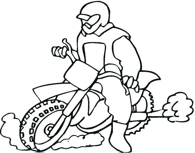 Motorcycle Coloring Pages To Print at GetDrawings.com