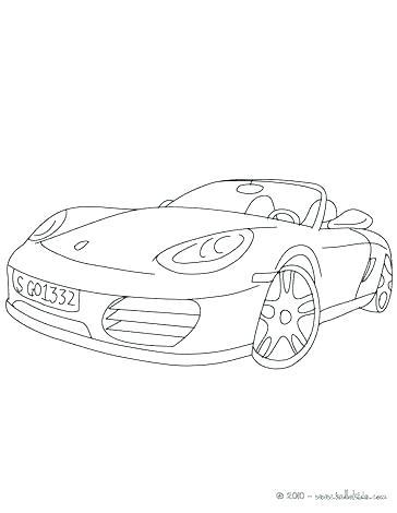 Ausmalbilder Porsche Panamera