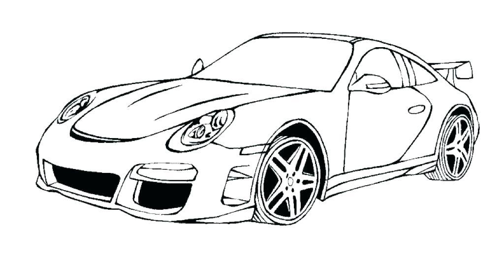 Ausmalbilder Porsche Cayenne