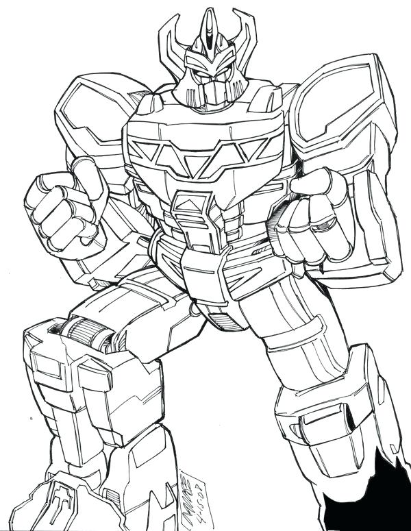 Megazord Coloring Pages : megazord, coloring, pages, Power, Rangers, Megazord, Coloring, Pages, GetDrawings, Download
