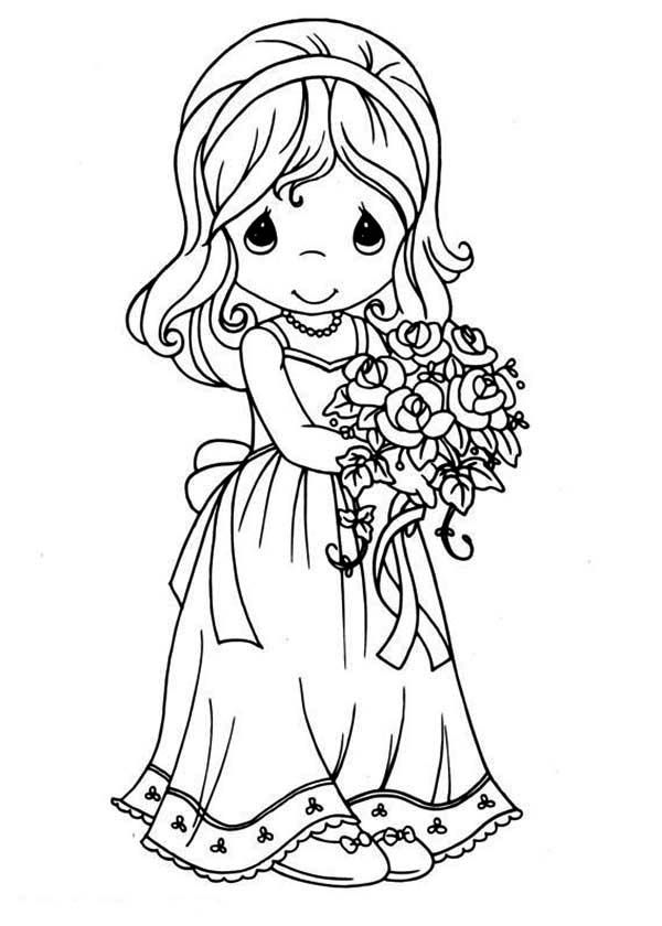 Precious Moments Easter Coloring Pages At