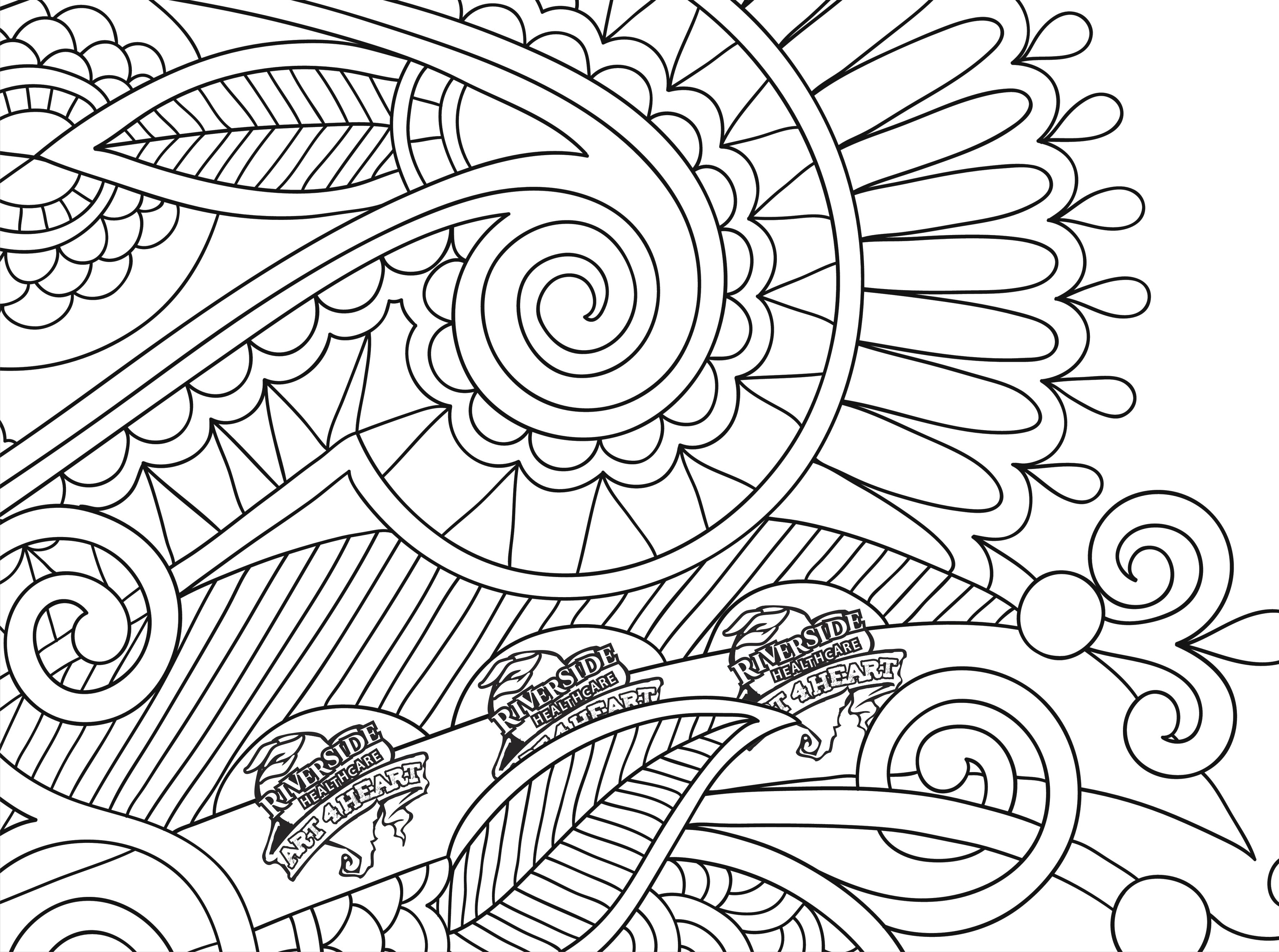 Printable Coloring Pages For Adults Flowers At Getdrawings