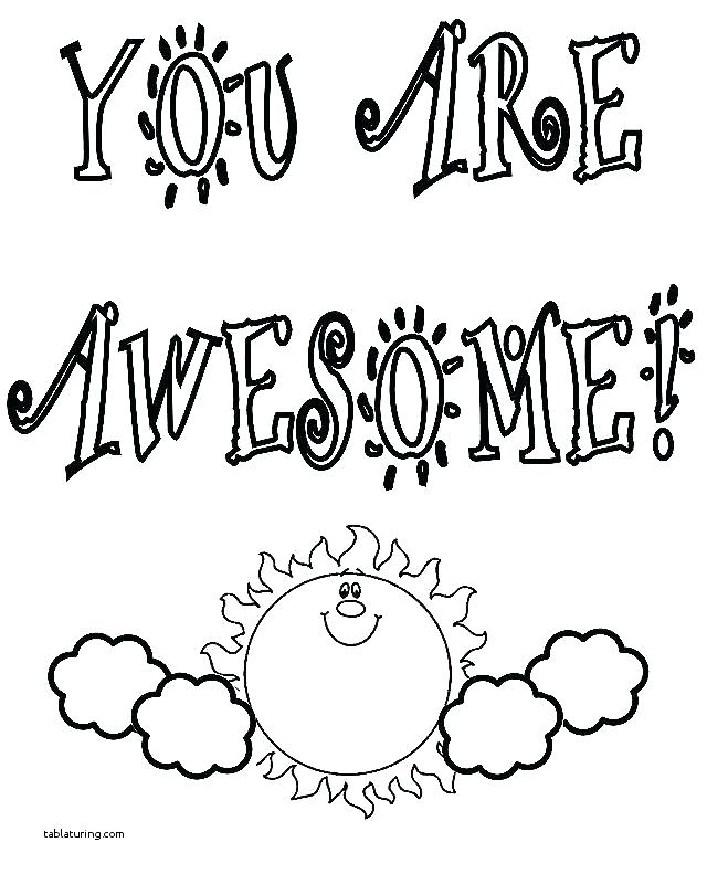 Printable Thank You Coloring Pages at GetDrawings.com