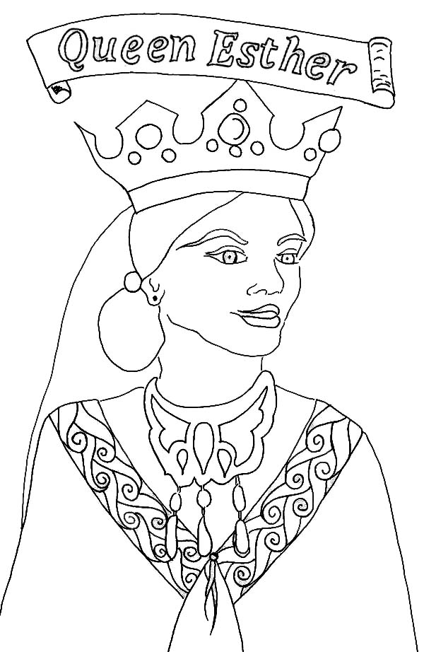 The best free Esther coloring page images. Download from