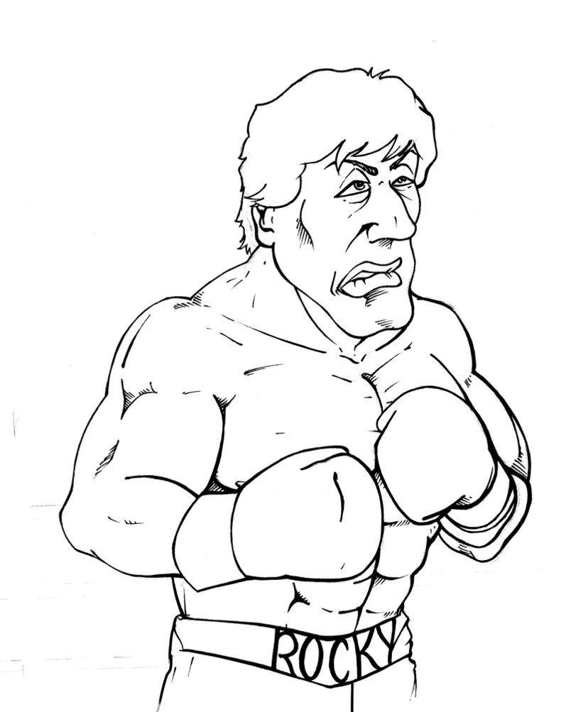 Rocky balboa   Etsy