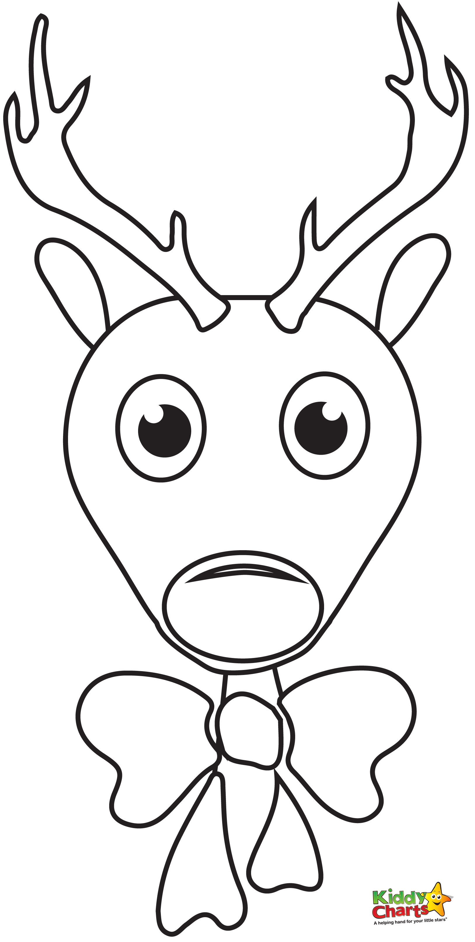 Rudolph The Red Nosed Reindeer Coloring Pages To Print At