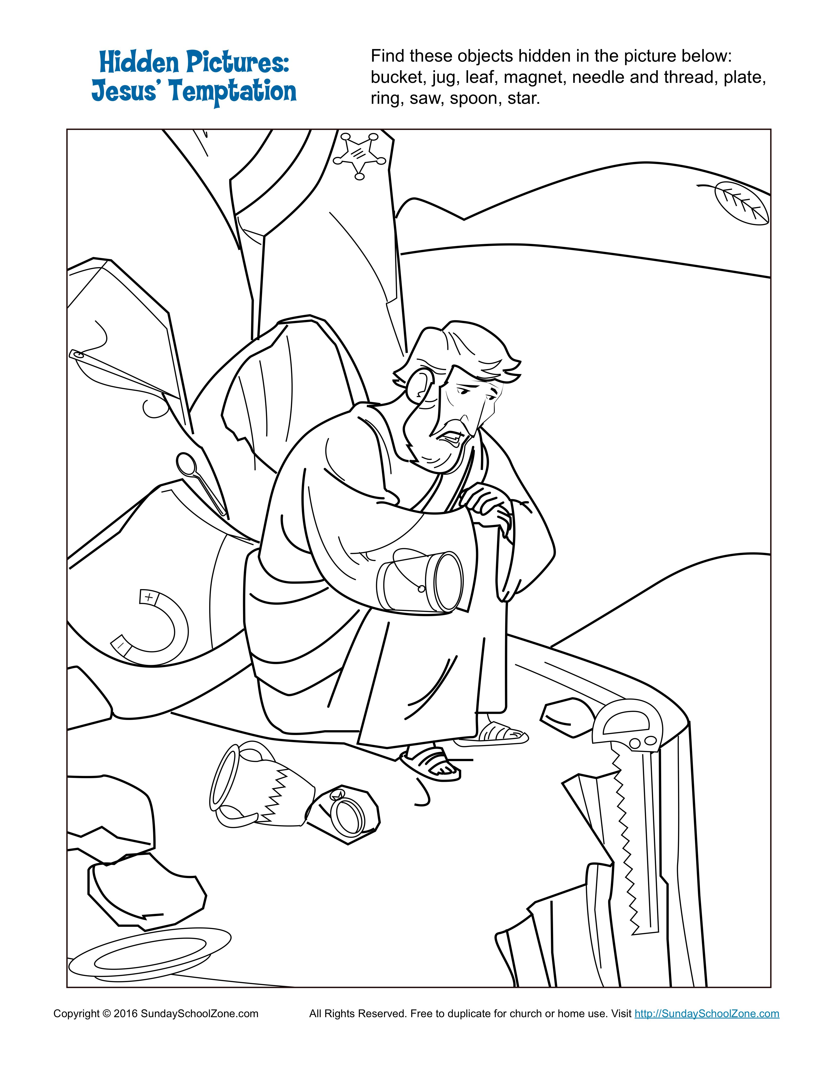 The Best Free Temptation Coloring Page Images Download
