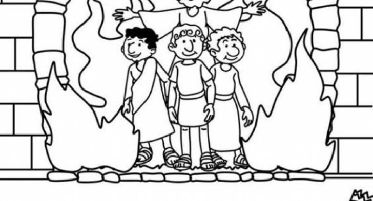 Shadrach Meshach And Abednego Coloring Page at GetDrawings