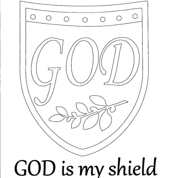 shield coloring page # 33