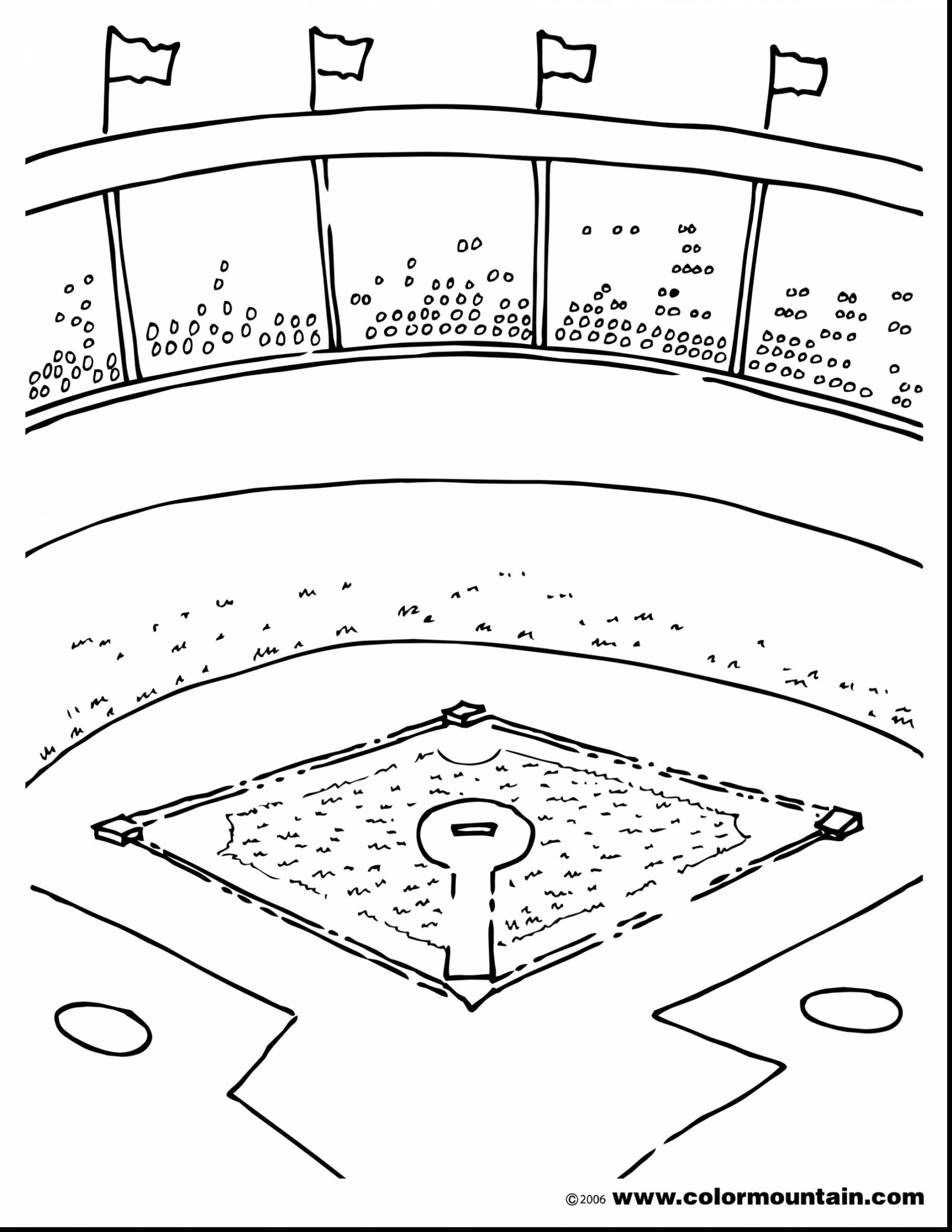 Softball Coloring Pages Printable At Getdrawings