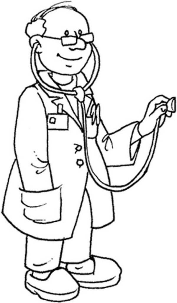 doctor coloring page # 55