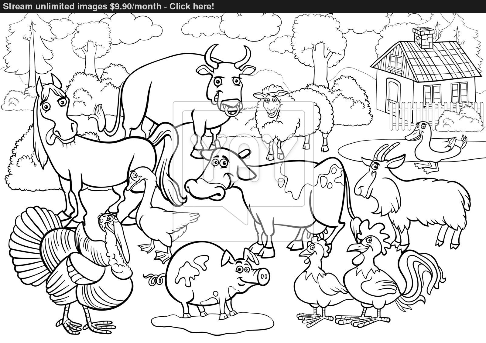 Stream Coloring Page At Getdrawings