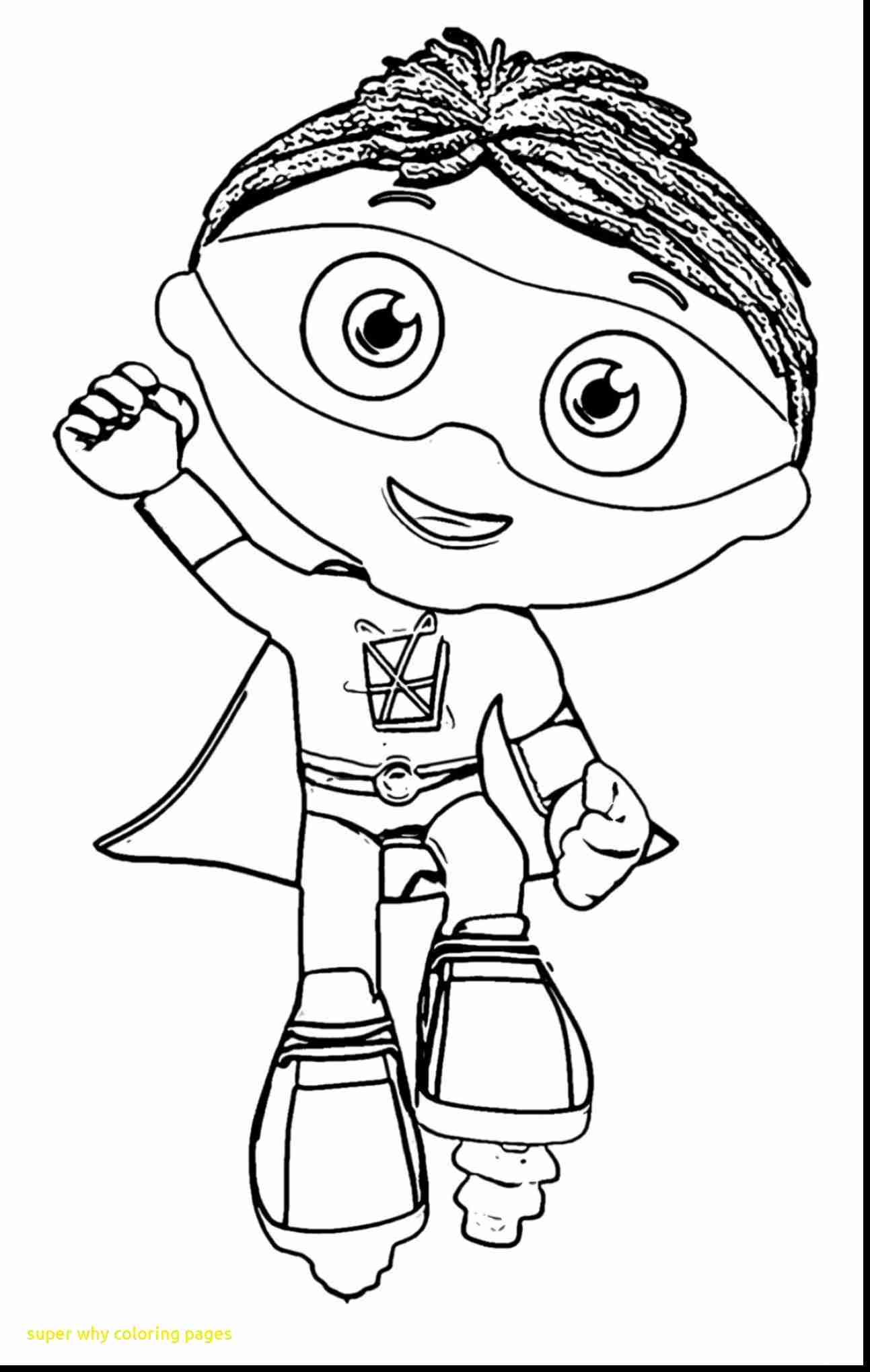 Super Why Coloring Pages At Getdrawings