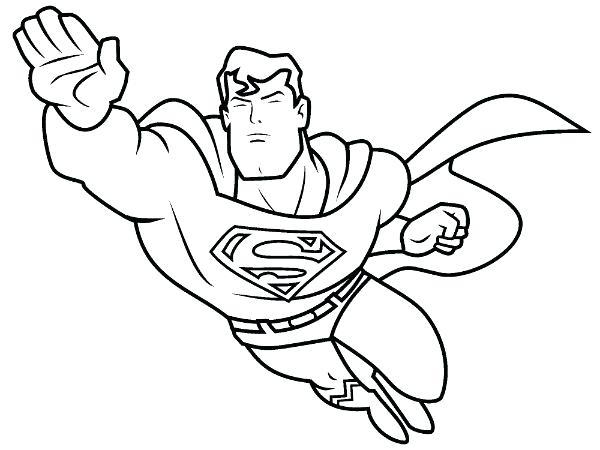 Superhero Coloring Pages For Preschoolers at GetDrawings
