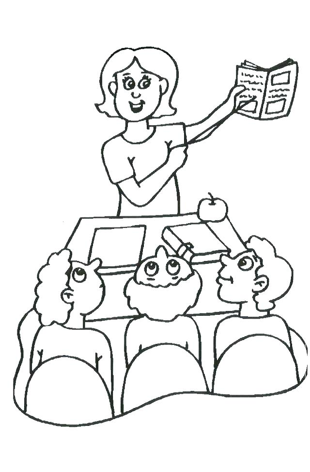 Teacher Appreciation Day Coloring Pages at GetDrawings.com