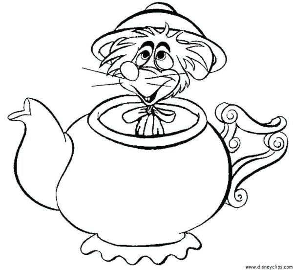 teapot coloring page # 43