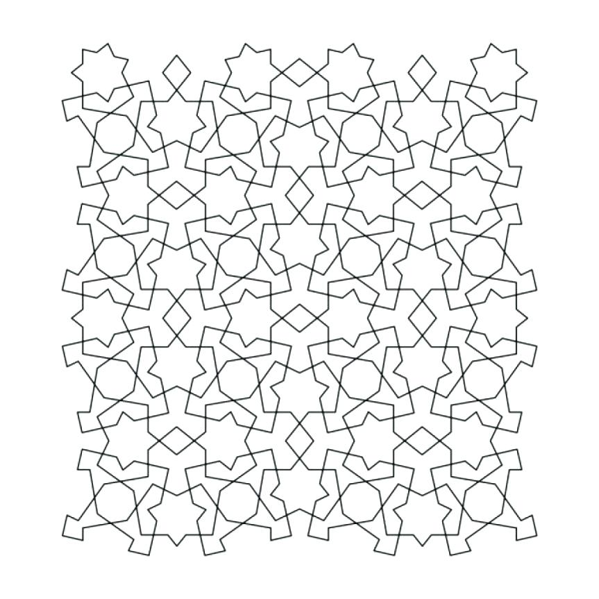The best free Tessellation coloring page images. Download