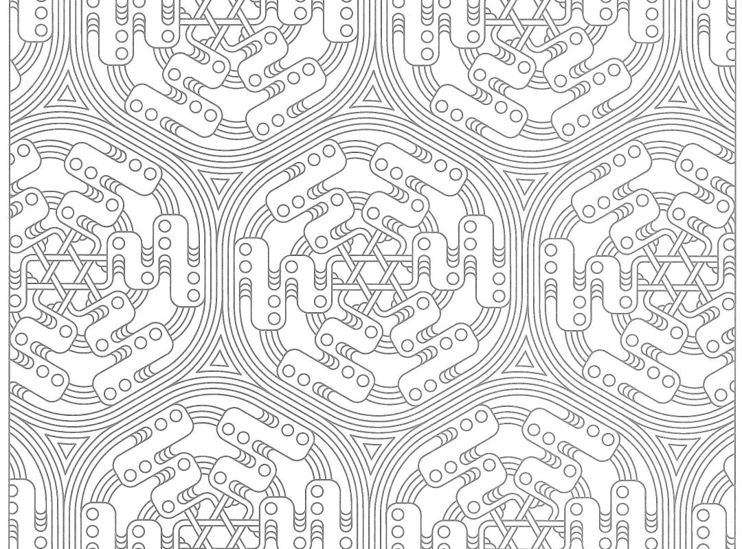 Tessellation Coloring Pages Free Printable at GetDrawings