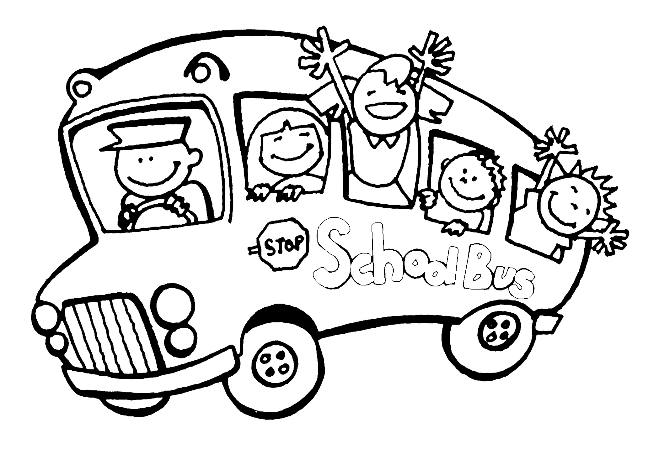 The Magic School Bus Coloring Pages At Getdrawings