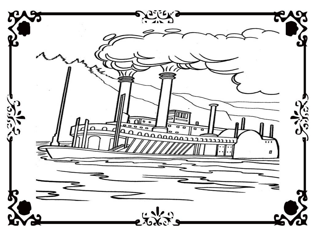 Titanic Ship Coloring Pages At Getdrawings