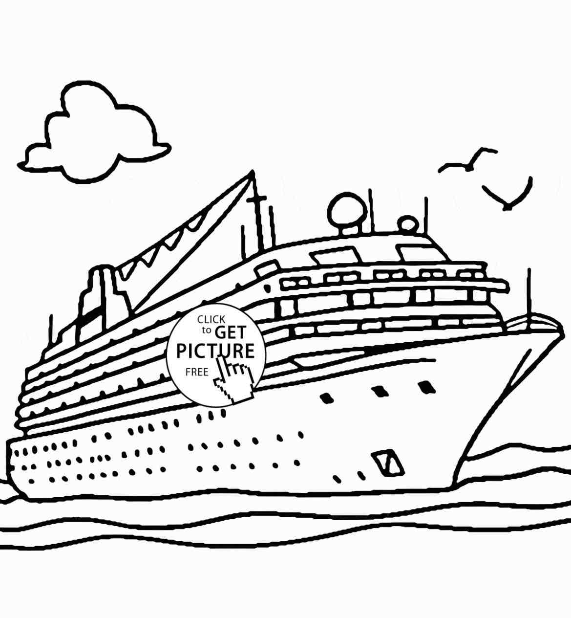 Titanic Sinking Coloring Pages At Getdrawings