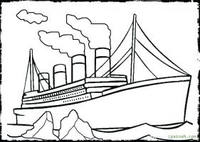 Titanic Sinking Coloring Pages at GetDrawings   Free download