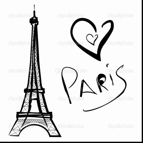 eiffel tower coloring pages # 43