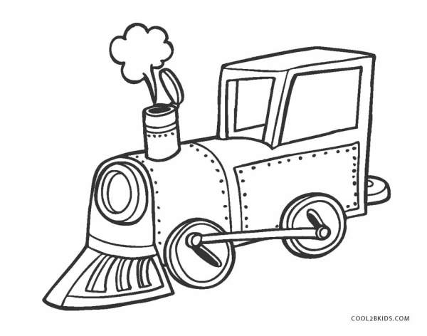 train color pages free printable # 27