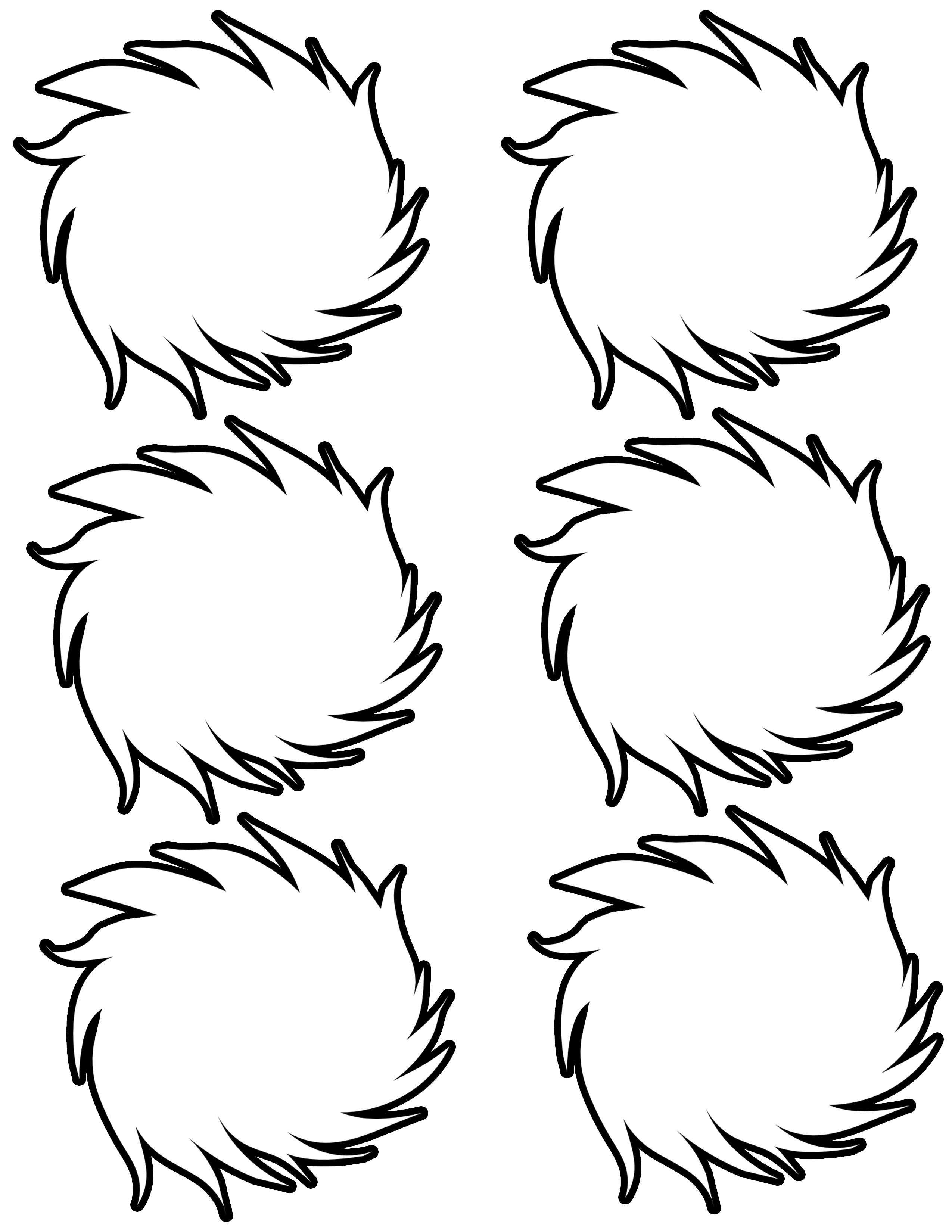 The Best Free Lorax Coloring Page Images Download From