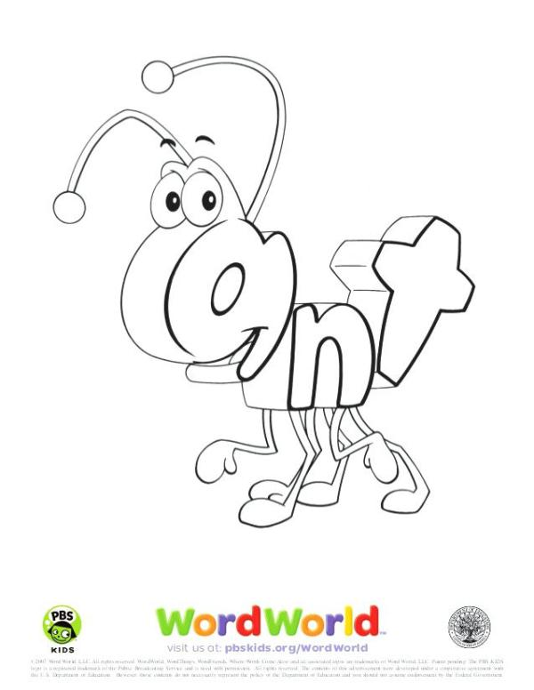 world coloring page # 83
