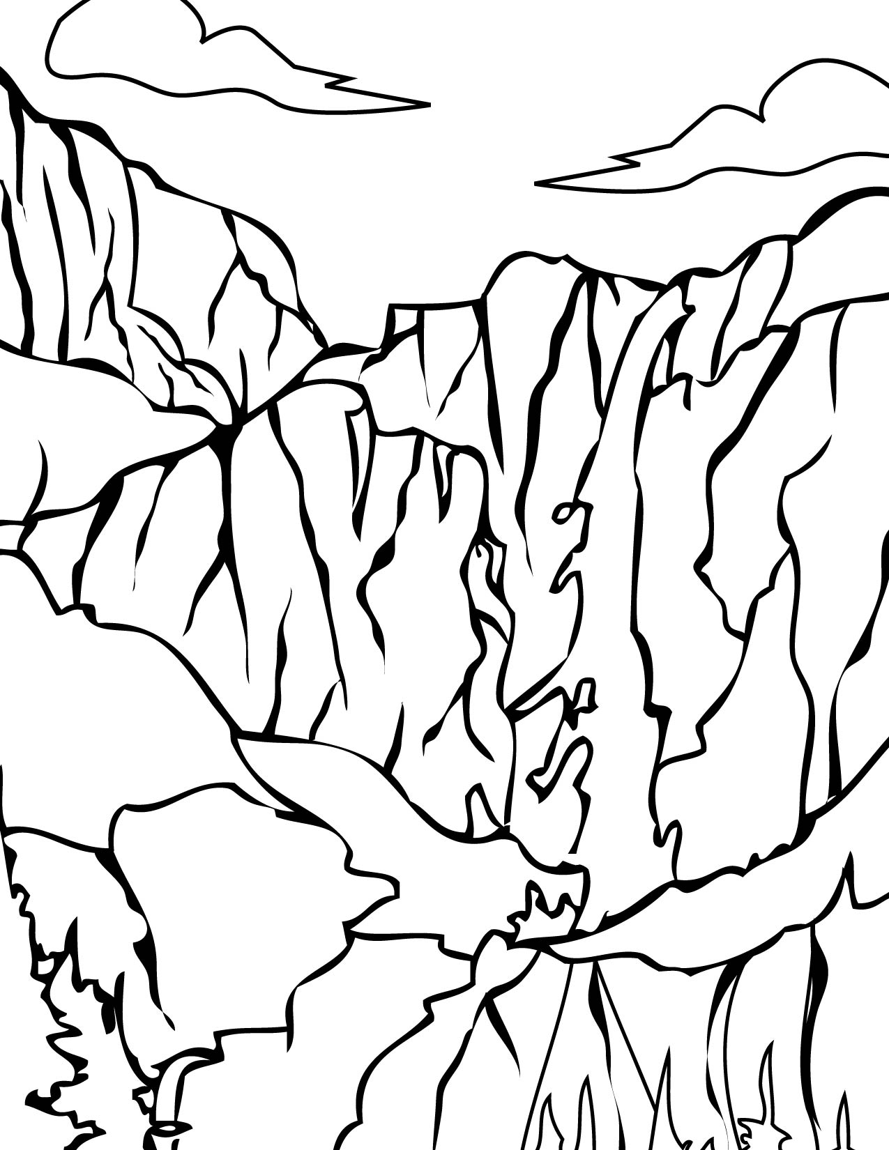 The Best Free Yosemite Coloring Page Images Download From