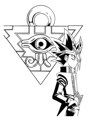 yu gi coloring oh pages puzzle millenium yugioh colouring yugi yami gx sheets draw drawing 5ds netart getdrawings trending days